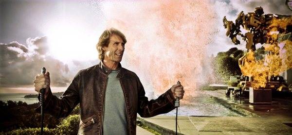 Michael Bay FiOS commercial image